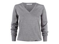 Westmore Lady Merino Pullover Grey melange XL