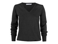 Westmore Lady Merino Pullover Black S