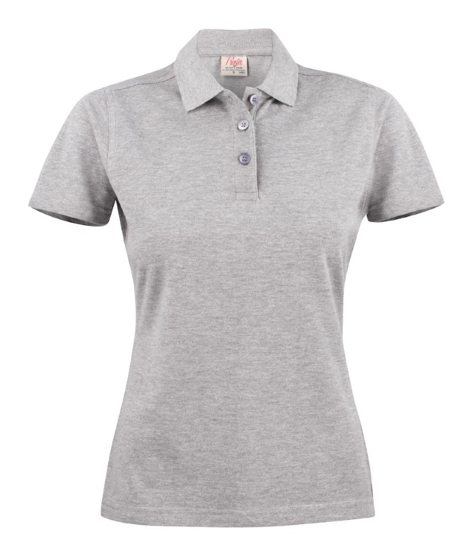 Surf Light Polo Lady Greymelange L