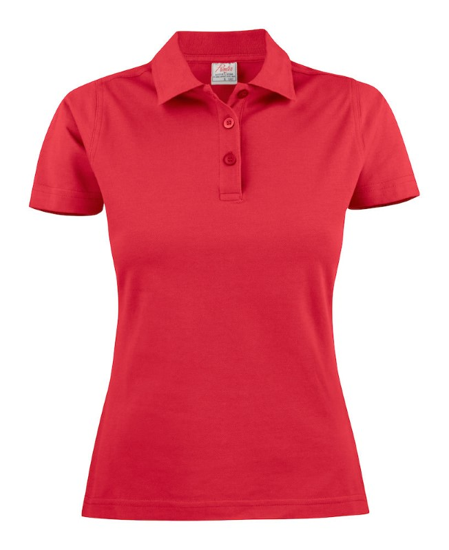 Surf Light Polo Lady Red L