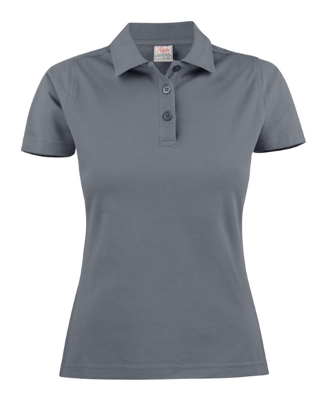 Printer Surf Light Polo Lady Steelgrey XL