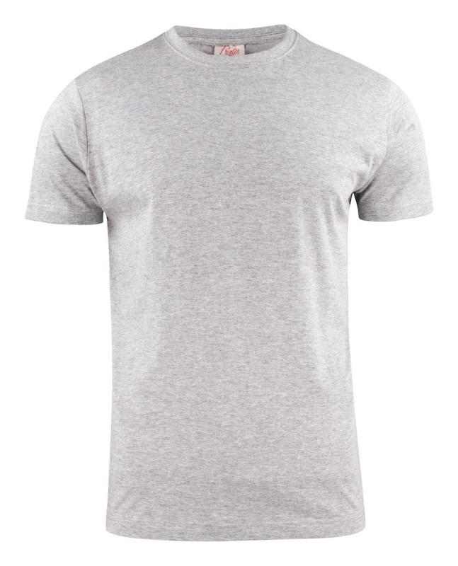 Printer Light T-shirt RSX Greymelange S