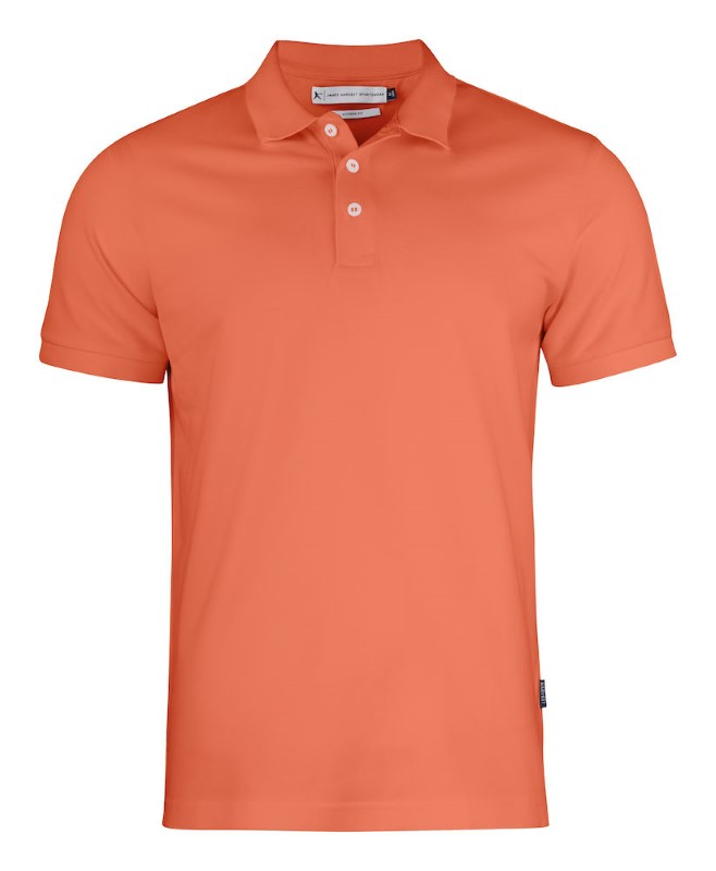 Harvest Sunset Polo Modern Orange Vinta XXL