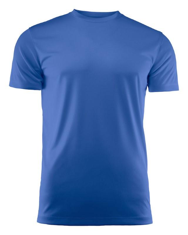 Printer Run Junior Active t-shirt Blue 150/160