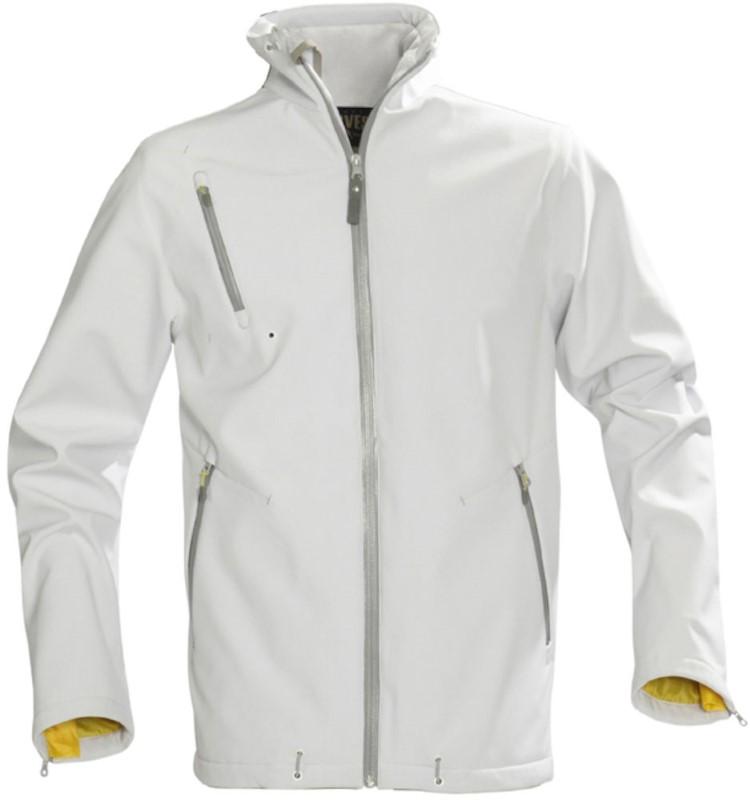 Harvest Snyder Softshell Jacket White M