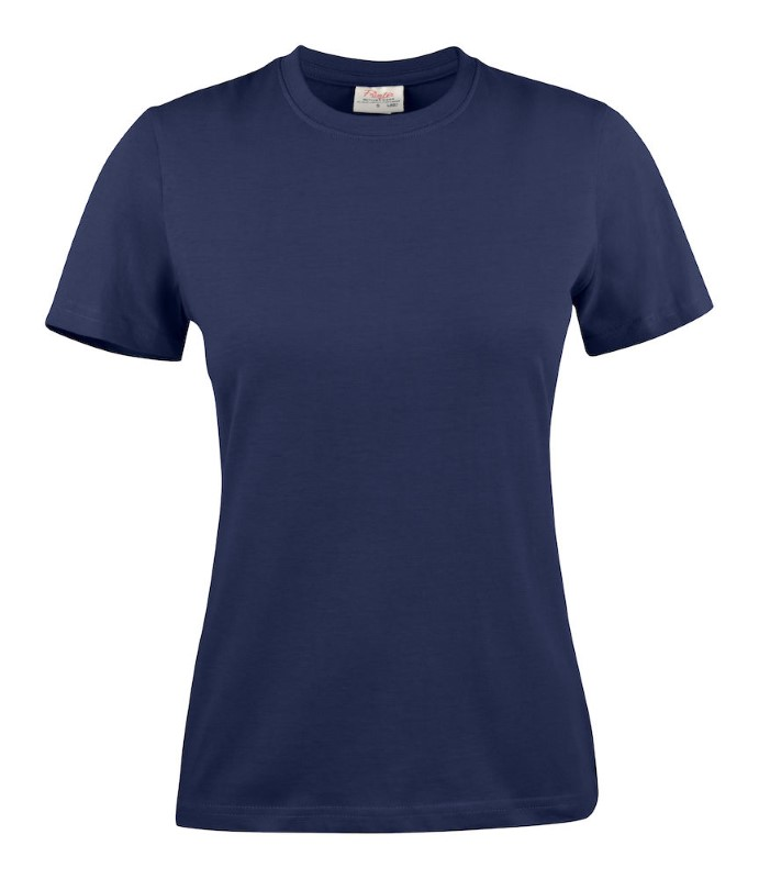 Printer Light T-shirt Lady Navy XS