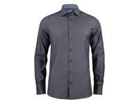 J. Harvest & Frost Purple Bow 142 Slim Shirt