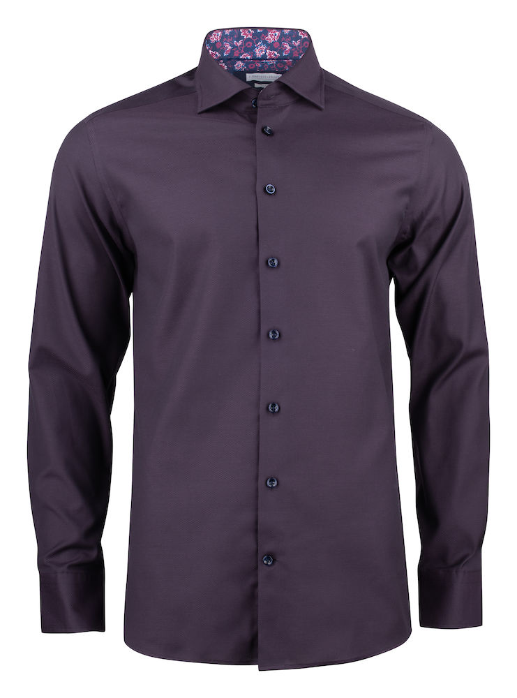 J. Harvest & Frost Purple Bow 142 Regular Shirt