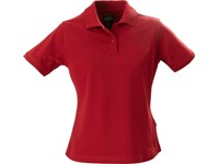 Harvest Albatross Ladies Stretch Polo Red L