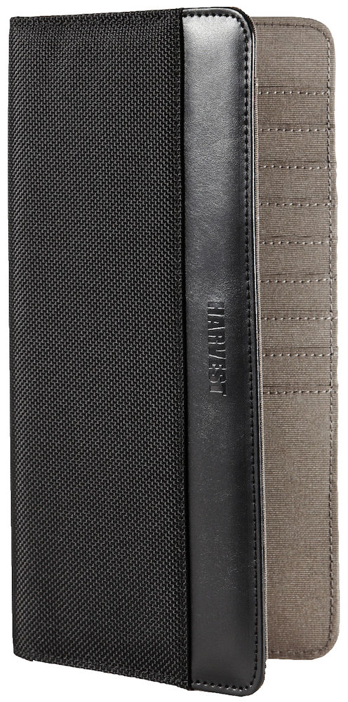 Harvest Cupertino Travel Wallet Black ONE SIZE