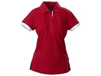 Harvest Antreville Ladies Pique Red L