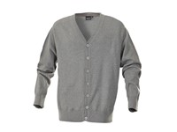 Harvest Knowville Cardigan Grey Mel XXL