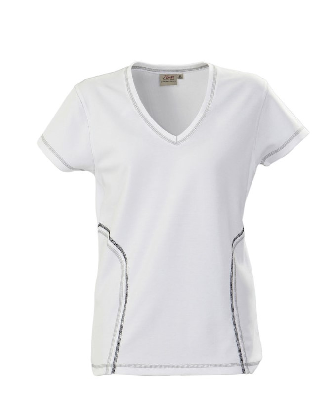 Printer Triple Jump Functional T-Shirt White S