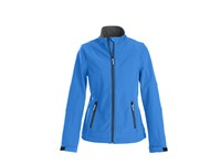 Printer Trial Lady Softshell Jacket Ocean blue XXL