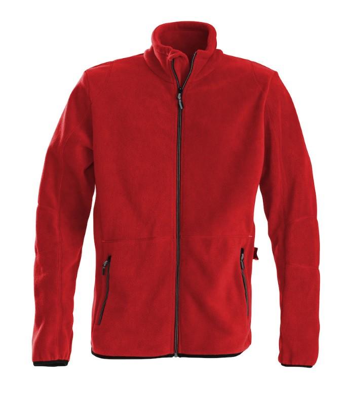 Printer Speedway fleece jacket Red XXL