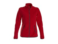 Printer Speedway lady fleece jacket Red S