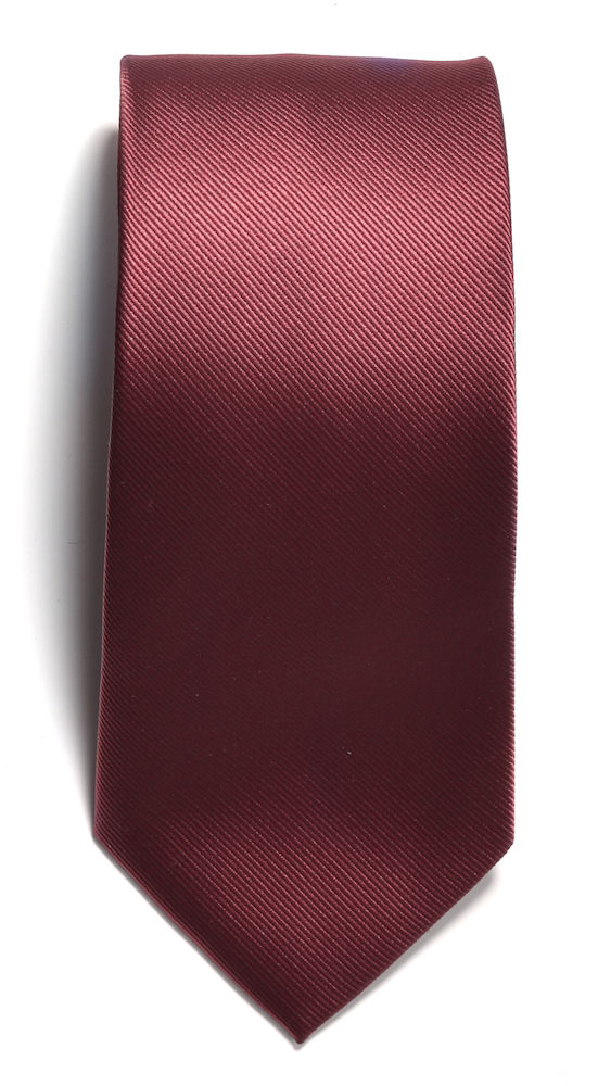 Tie plain Wine ONE