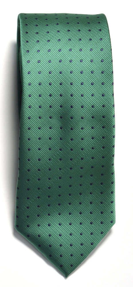 Tie dot Green/Navy ONE