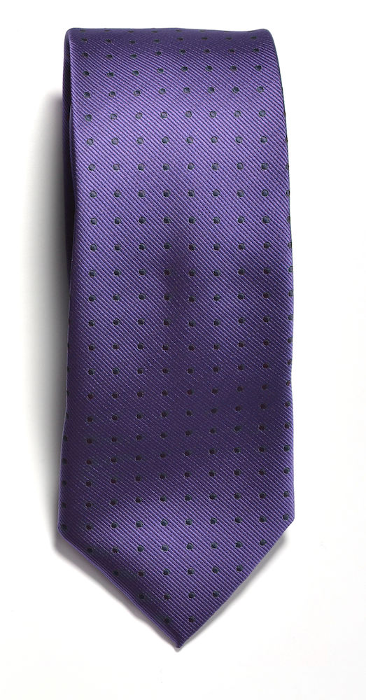 Tie dot Purple/Navy ONE