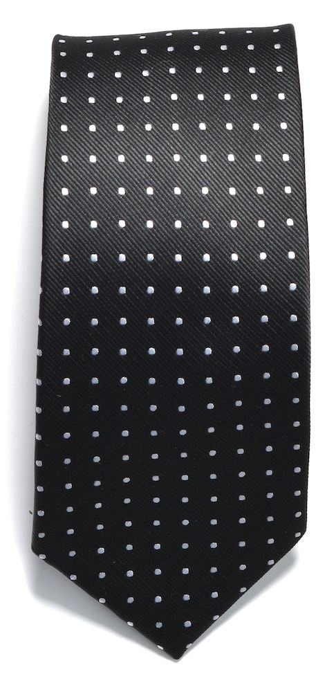 Tie dot Black/White ONE
