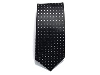 Tie dot Black/White ONE