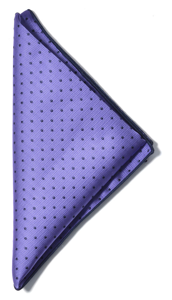Handkerchief microfiber Purple/Navy ONE
