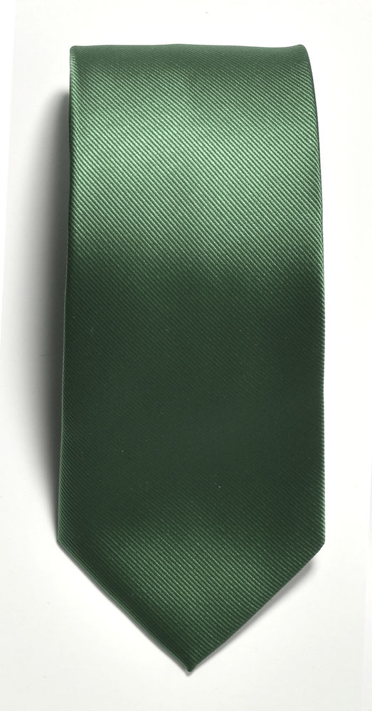 Tie plain Green ONE
