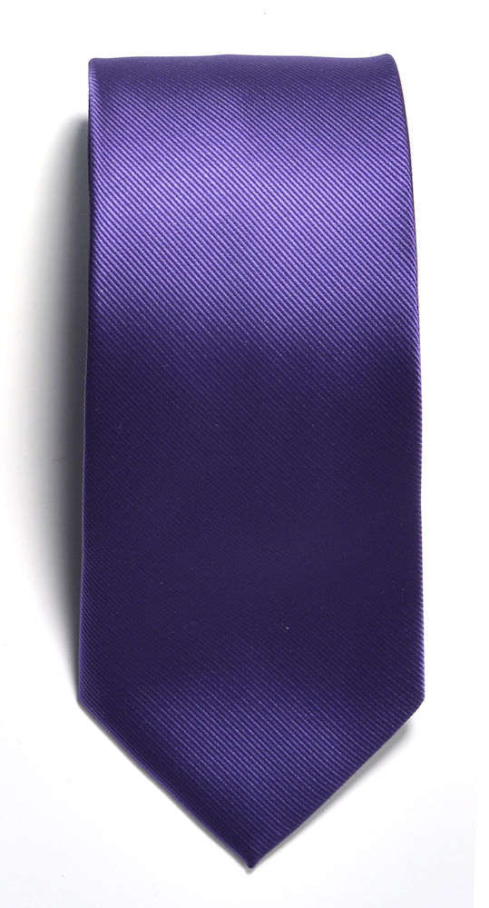 Tie plain Purple ONE