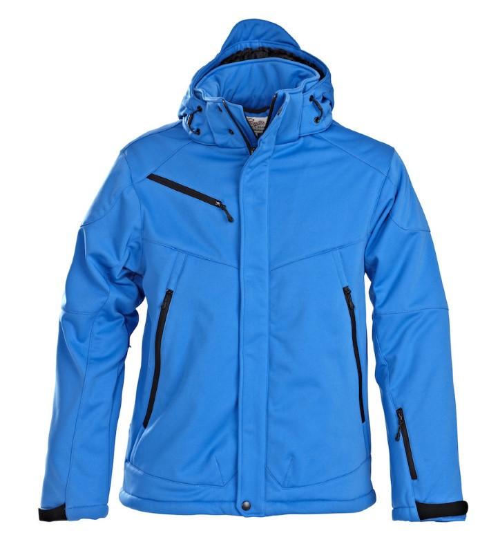 Printer Skeleton Softshell Jacket Ocean blue XXL