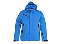 Printer Skeleton Softshell Jacket Ocean blue 3XL