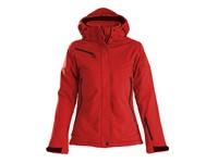 Printer Skeleton Lady Softshell Jacket red S
