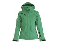 Printer Skeleton Lady Softshell Jacket Green XL