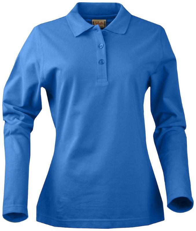 Printer Surf Ladies Long Sleeve ocean blue XL