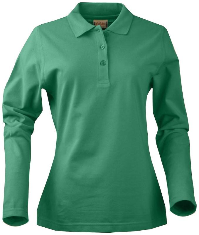 Printer Surf Ladies Long Sleeve fresh green XXL