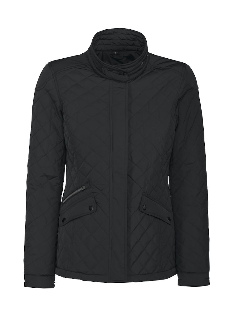 Harvest Huntingview Lady Quilted Jacket Black M