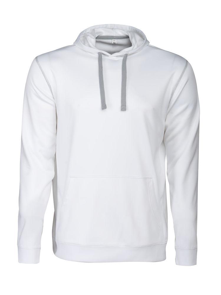 Printer Pentathlon hooded Sweater White L
