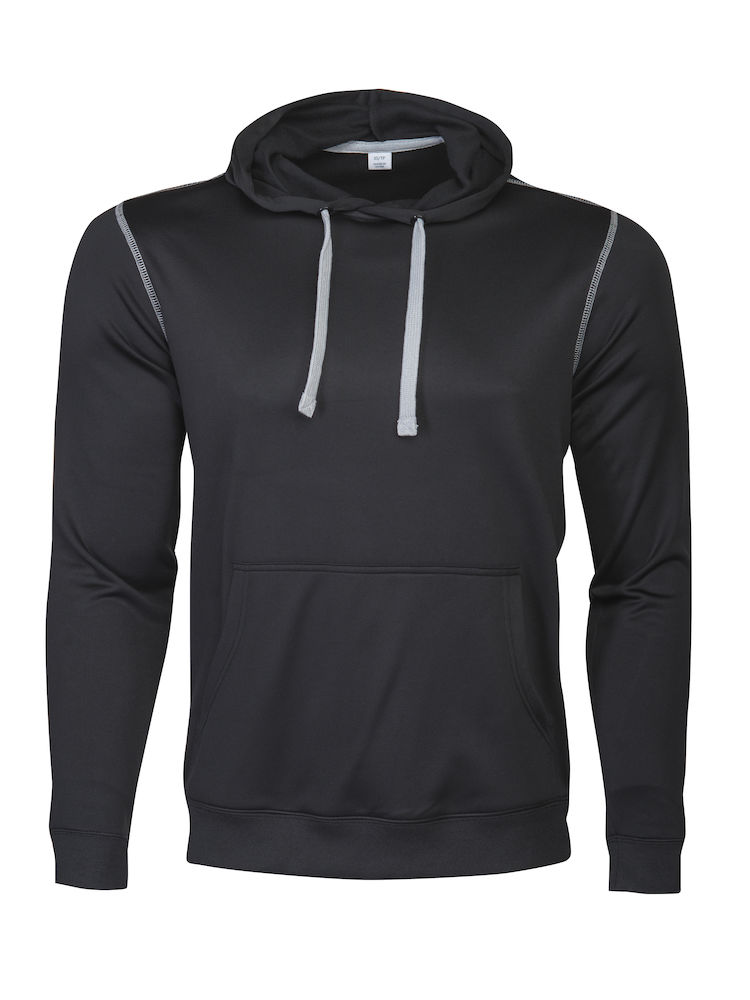 Printer Pentathlon hooded Sweater Black M