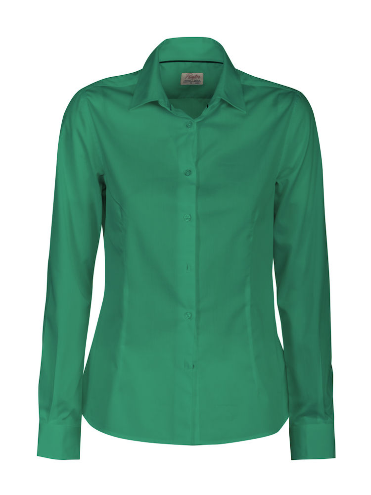 Printer Point Lady Shirt Fresh green XS