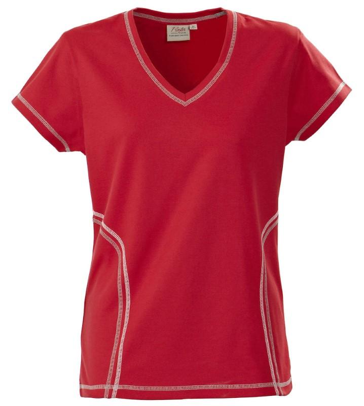 Printer Triple Jump Functional T-Shirt Red XS