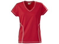Printer Triple Jump Functional T-Shirt Red L