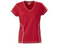 Printer Triple Jump Functional T-Shirt Red S
