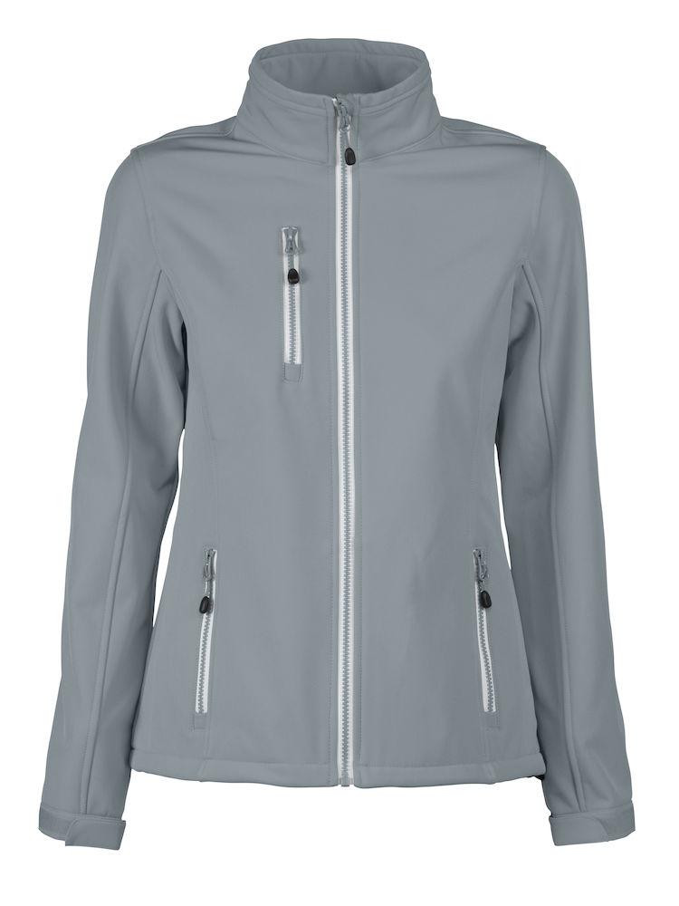 Printer Vert Lady Softshell Jacket Metalgrey S