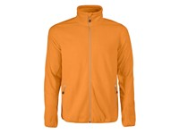 Printer Rocket Fleece Jacket Bright orang S