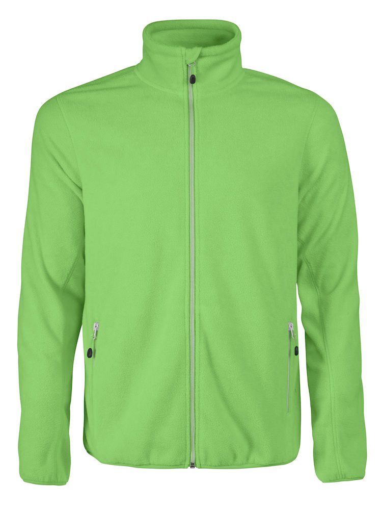 Printer Rocket Fleece Jacket Lime 5XL