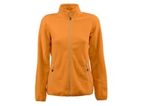 Printer Rocket Lady Fleece Jacket Bright orang L