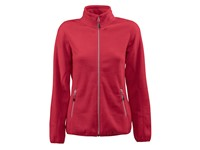 Printer Rocket Lady Fleece Jacket Red S