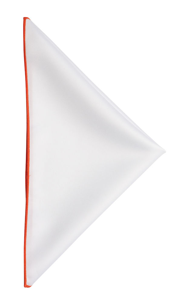 Handkerchief White/Orange ONE