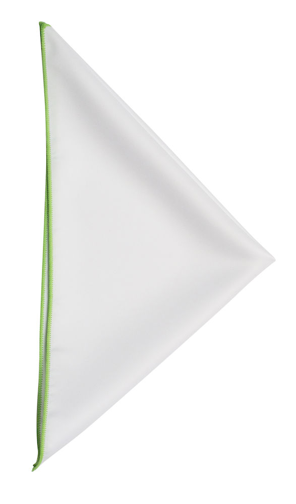 Handkerchief White/Green ONE