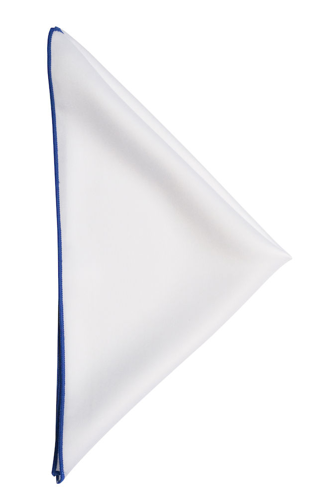 Handkerchief White/Blue ONE