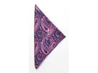 Handkerchief Paisley Pink ONE